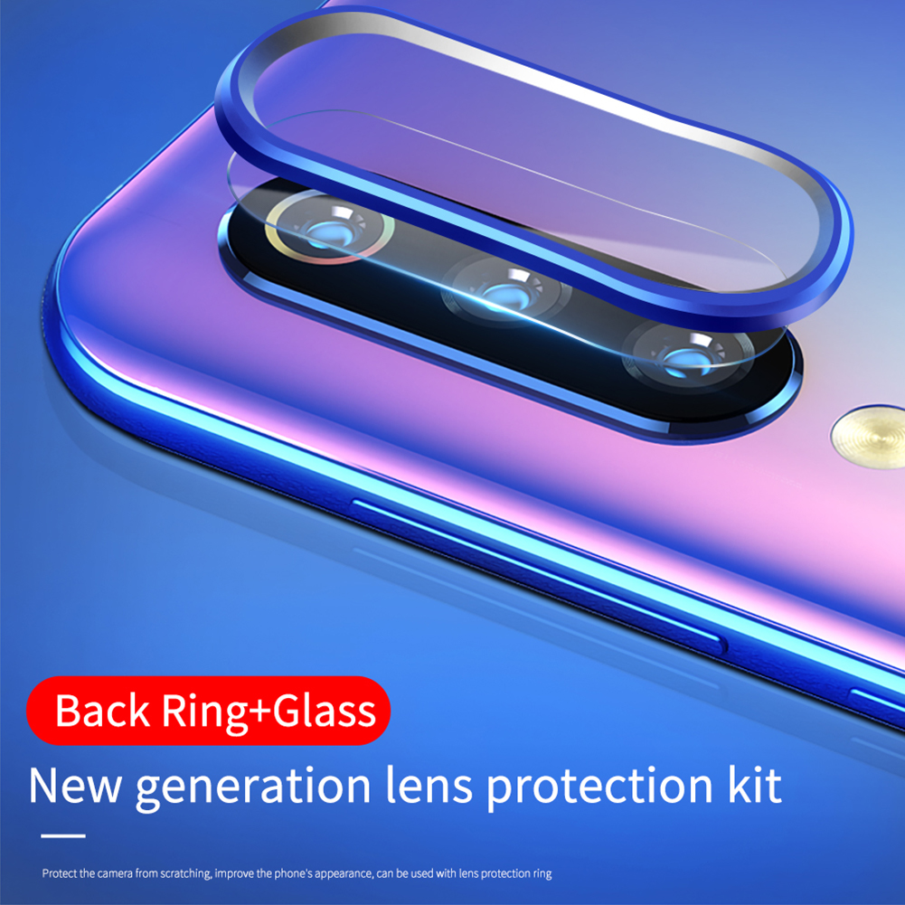 Guard Clear Aluminum Alloy Rear Protective Film Set Camera Lens Rings Anti Scratch Ultra Thin Wear Resistant For Xiaomi 9 For SE