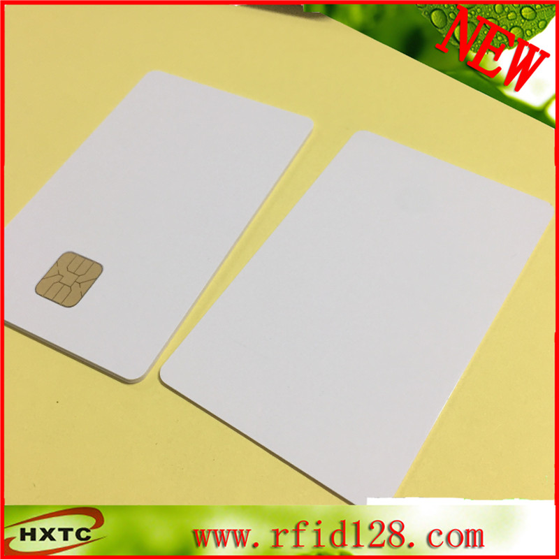 Free Shipping 50PCS/Lot Contact AT24C64 Chip Smart IC Blank  Card with 64K Memory And Printable By Zebra Card Printer 20pcs lot contact sle4428 chip gold card with magnetic stripe pvc blank smart card purchase card 1k memory free shipping