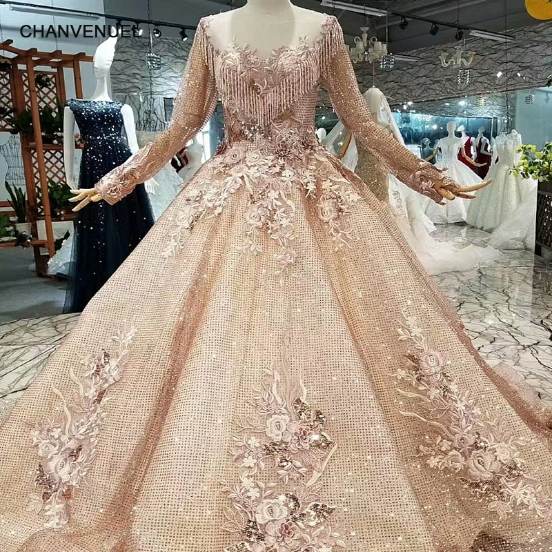 LS175574 dubai mother of the bride dress long tulle sleeves o neck brush train muslim plus size women occasion dress real photo