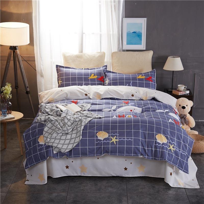 Kids Luxury Printed Polycotton Duvet Cover Bedding Sets
