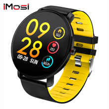Imosi K9 Sport Bluetooth Smart Watch Heart rate monitoring Fitness Tracker Men IP68 waterproof Women Smartwatch kw18 bluetooth smart watch women men sport fitness tracker watches fashion heart rate smartwatch sim ips screen smartwatches men
