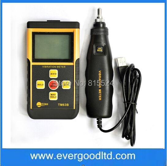TM63B Speed/Acceleration/Displacement Integrated Digital
