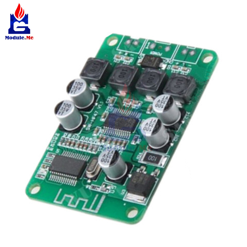 1pc New Tpa3110 2x15w Bluetooth Audio Power Amplifier Board For 4 6 15 Volts Output Of Each Speaker 10 Watt With Ohm Impedance 2x15 W Placa De Amplificador Potncia Dual Channel Amp