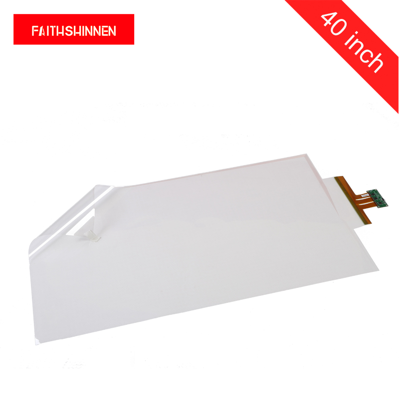 40 inch touch foil interactive touch screen film capacitive 10 points