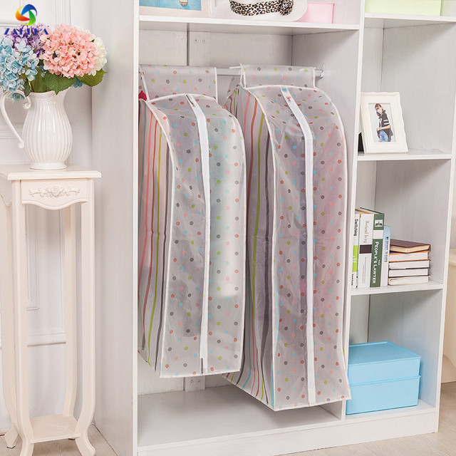 EIEYO Storage Bag Case For Clothes Organizer Garment Suit Coat Dust Cover  Protector Wardrobe Storage Bag