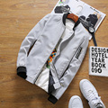 Thin Jackets Men Solid Zipper Bomber Jacket Windrunner Men'S Windbreakers Casual Male Coat Wind Breaker Spring  brand clothing