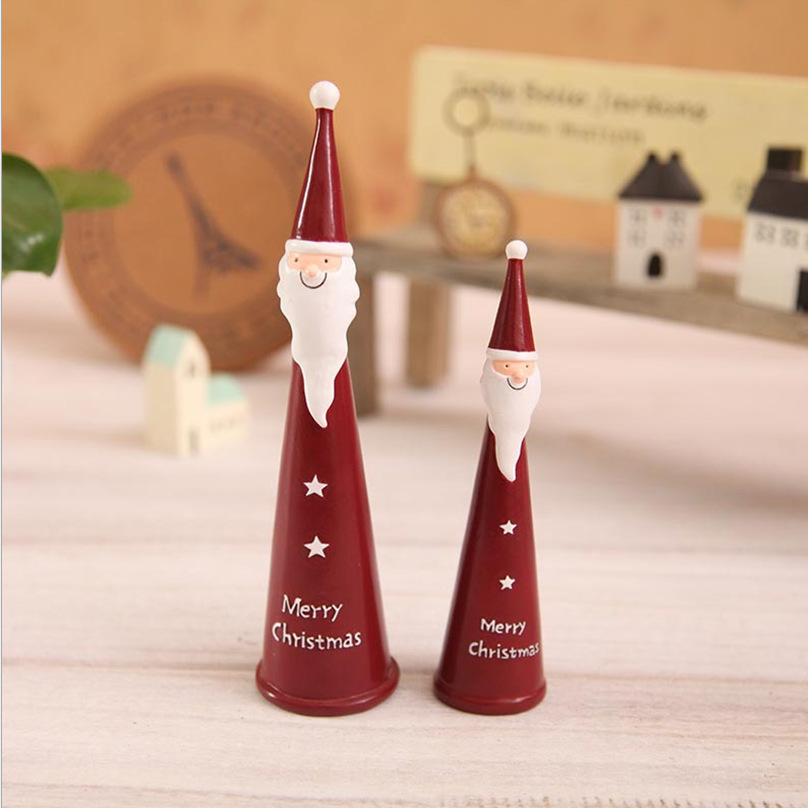 Aliexpress.com : Buy Christmas Santa Ornaments Resin