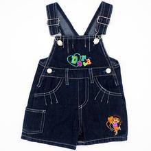 Wzór losowy kolor moda dla niemowląt chłopcy dziewczęta spodnie na szelkach spodnie dla dzieci Denim spodnie dla dzieci kreskówki dla niemowląt dżinsy kombinezony spodnie tanie tanio JEANS Unisex Stałe Beloved Angel Na co dzień Przycisk fly Pasuje prawda na wymiar weź swój normalny rozmiar JJYZ128