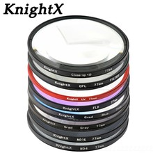 KnightX 52 58 67 mm Macro Close Up  +10 lens Filter for Sony Nikon Canon EOS DSLR d5200 d3300 d3100 d5100 nd gopro lenses
