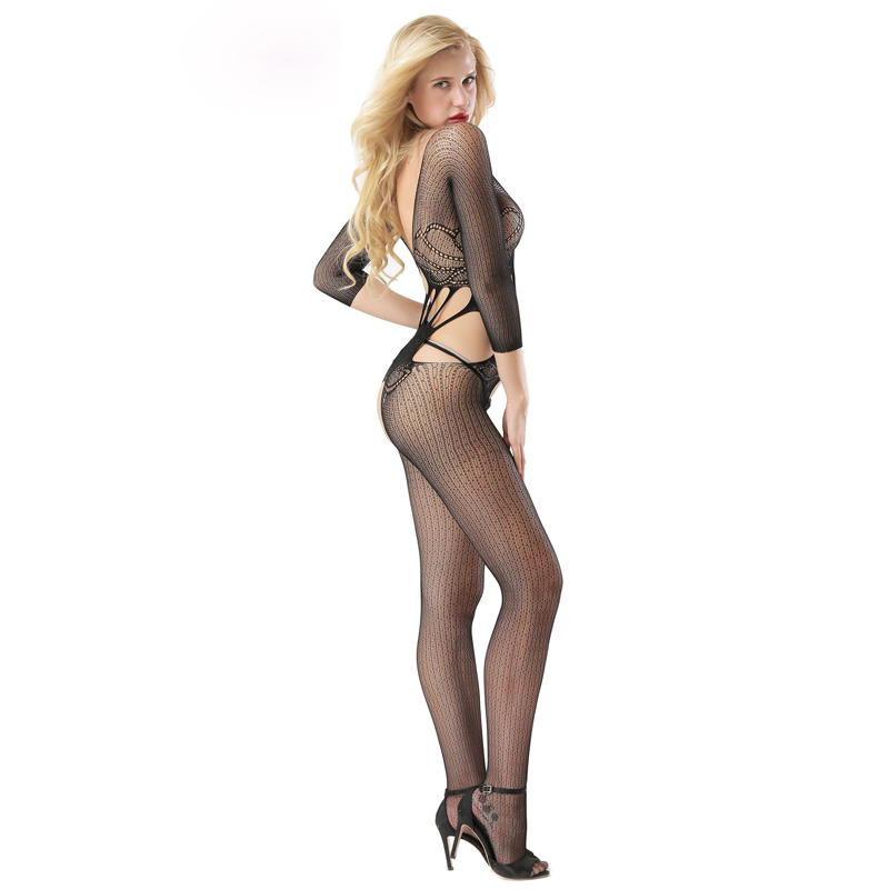 Europe and the United States sexy black ladies pantyhose