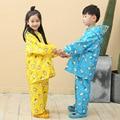 Cartoon Animal Rain Coat &Pants Suit Poncho,Girl's Boy's Raincoat For Children Kids Chubasquero Set Winter