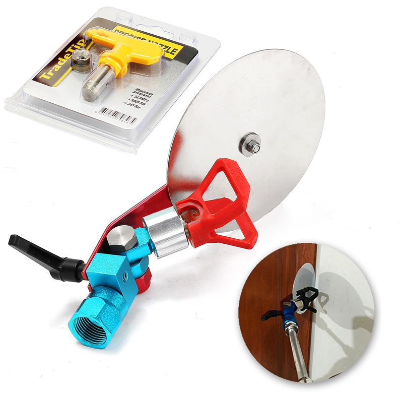 7/8 Spray Paint Gun Guide Accessory Tool with Tip Nozzle + Seal for Wagner Titan Graco Paint Sprayer Mayitr