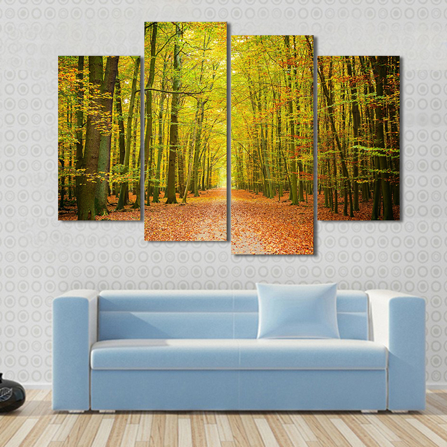 Unique Set Of 4 Canvas Wall Art Collection - Wall Art Design ...