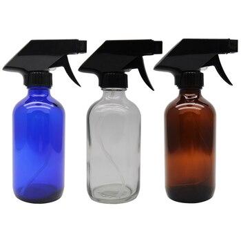 250 ml e 500 ml Bottiglie di Vetro, con Spruzzatore Perfetto per Gli Oli Essenziali, Oli Profumo
