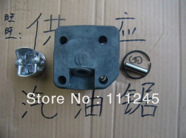 CYLINDER ASSY 45.2MM NISI COATED FOR ZENOAH G5800 5800 5900 CHAINSAW  FREE SHIPPING CHEAP CHAIN SAW ZYLINDER HEAD + PISTON KIT new 50mm cylinder piston kits fit husqvarna 61 268 272 272k 272xp chain saw fast free shipping