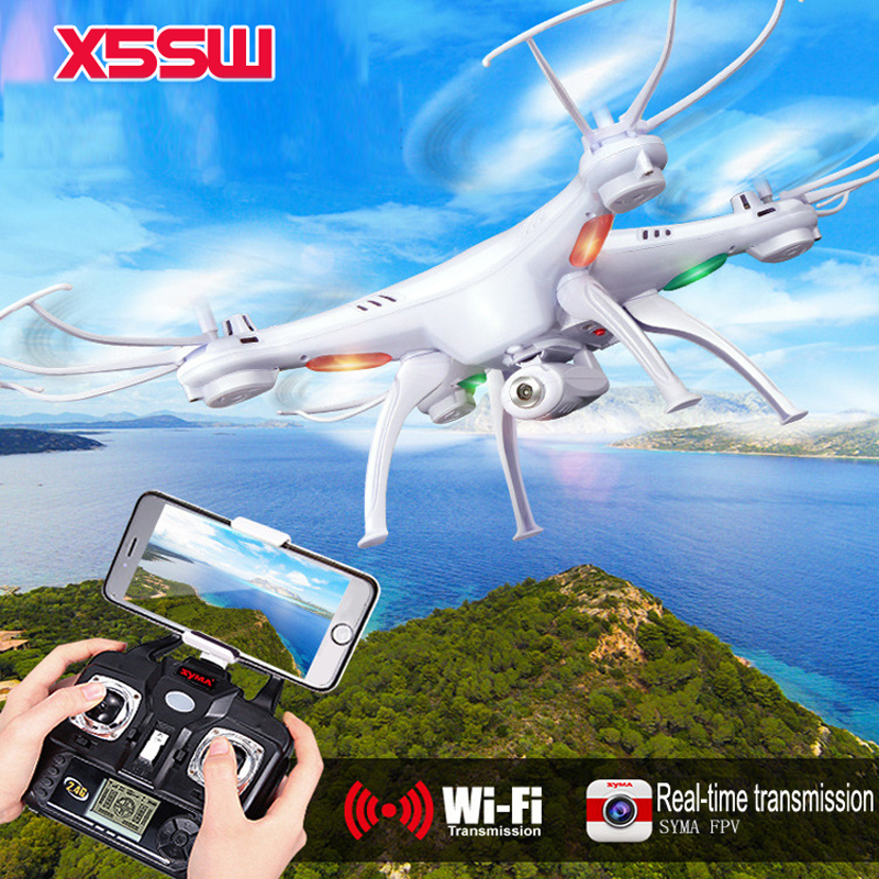 2.4G 4CH RC Drone Professional drone RC Quadcopter with HD Camera 2.0MP FPV helicopter WIFI syma x5SW Remote Control quad copter new syma x5 series x5uw rc drone gesture control helicopter quadcopter with camera hd fpv professional aerial uav for sale