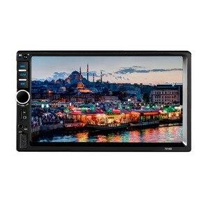 """Image 4 - Автомагнитола 2 din 7018B, стерео система с 7 """"HD радио, Bluetooth, FM радио, mp5 плеером, с поддержкой камеры заднего вида"""