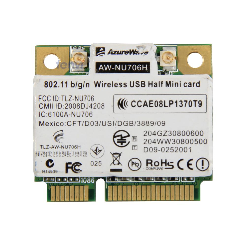 Azurewave AW-NU706H Ralink RT3090 Half Mini Height Wireless-N PCI-E Card 802.11 b/g/n Wireless Wifi Network Wlan  RT3090L