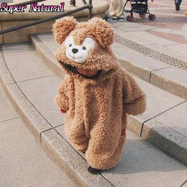 b85f2420d High Quality Winter Kids Cute Duffy Bear ShellieMay Onesies Pajamas ...