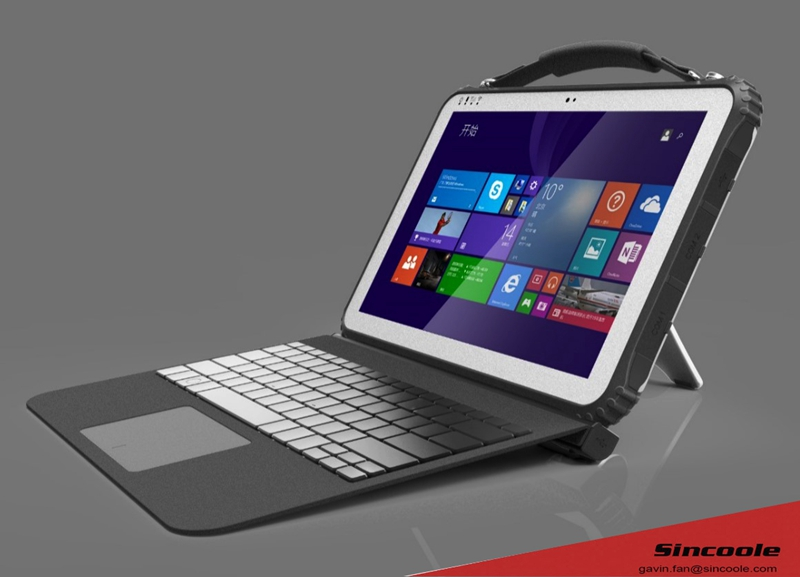 12 inch IP65 4G LTE Windows 10 tablete industriale cu NFC