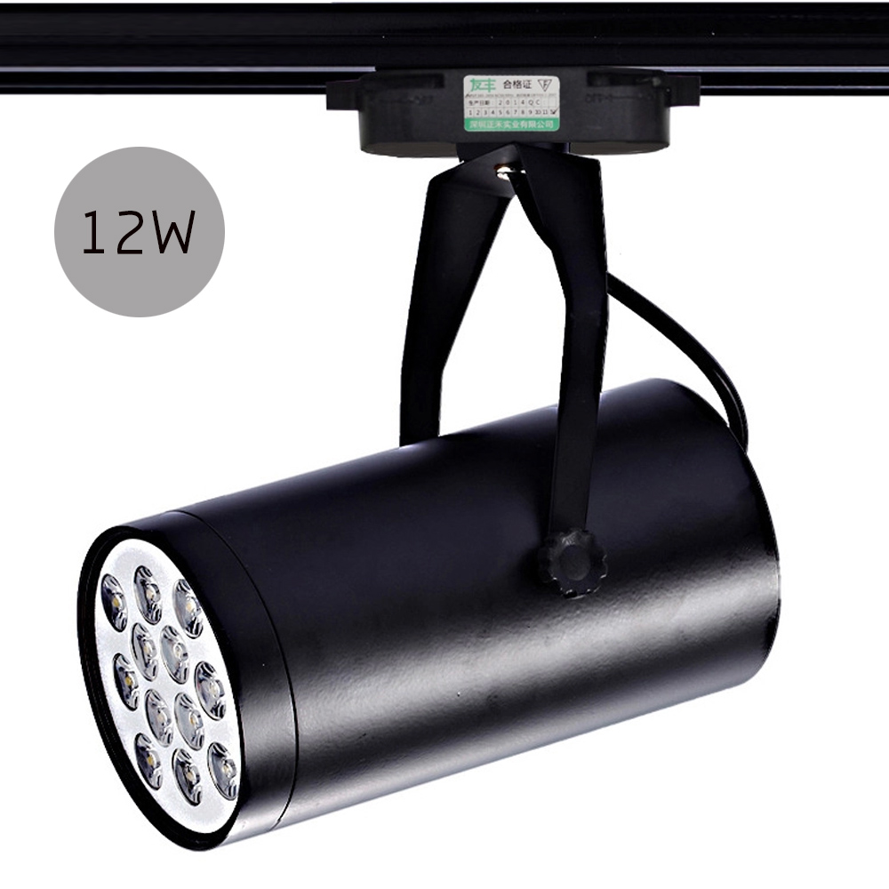 Aliexpress buy 1pc 12w ac 86 220v led aluminum blackwhite aliexpress buy 1pc 12w ac 86 220v led aluminum blackwhite stage light track lights led rail track lighting spot rail free shipping from reliable led mozeypictures Image collections