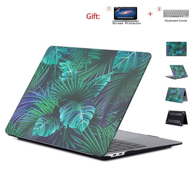 Cứng Laptop Dành Cho Apple MacBook Air 11 13.3 Pro Retina 13 15.4 Cho Macbook 12 Inch 2018 Không Quân Mới pro 13 Với Thanh Cảm Ứng + Quà Tặng