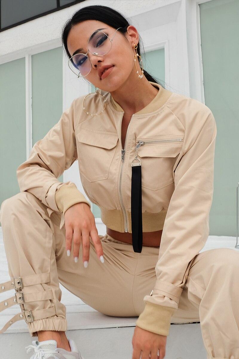 HTB1iyyEXiYrK1Rjy0Fdq6ACvVXaP Rapcopter Outerwear Coat Bomber Jacket Women Patch Long Sleeve Autumn Jacket Pocket Hig Waist Buckle Zipper Streetwear Jacket