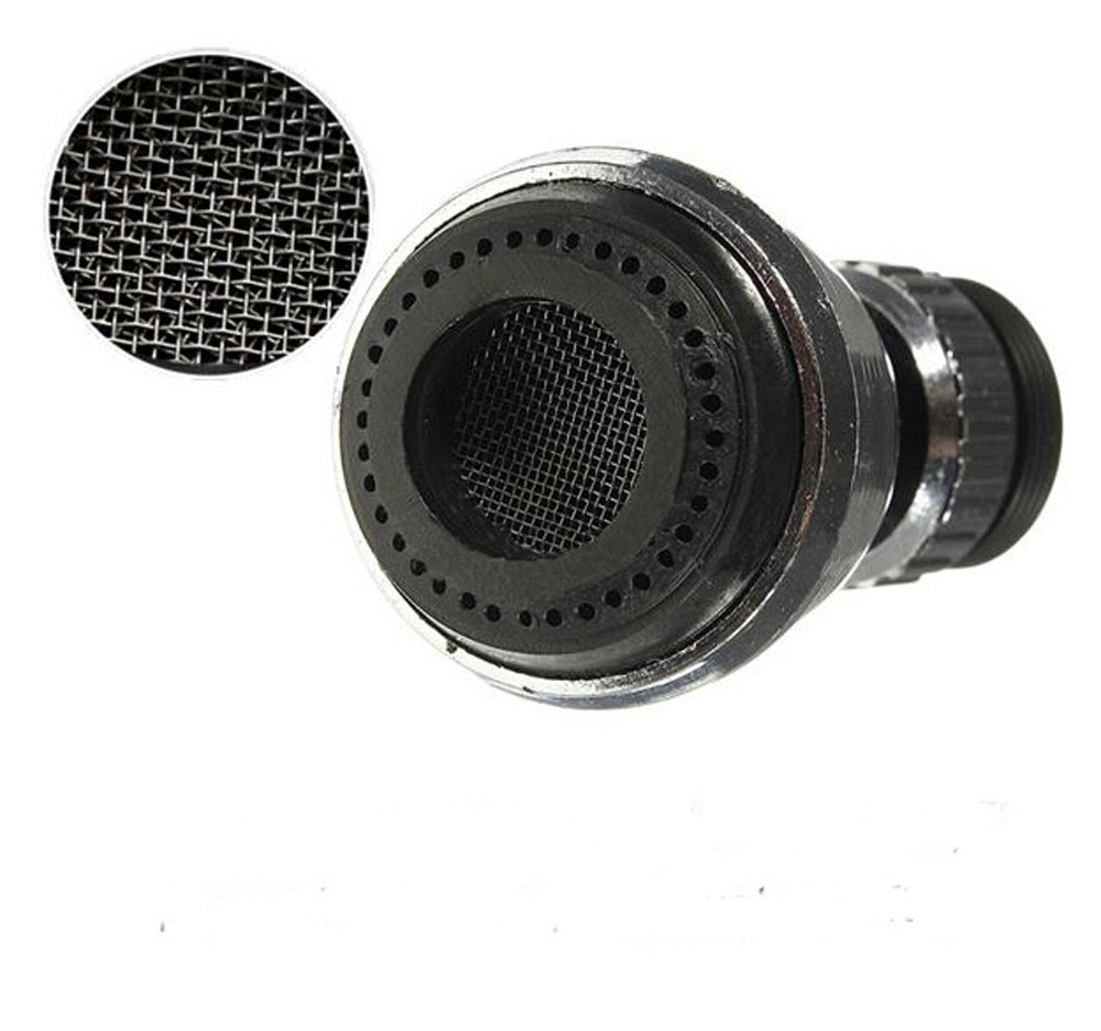 360 Rotate Faucet Water Saving Tap Bubbler Aerator Diffuser Faucet ...