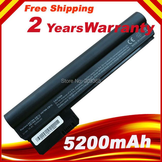 6 batería del ordenador portátil 5200 mAh para HP UMPC NetBook & MID Mini 110 110-3000 110-3100 607762-001 607763-001 HSTNN-DB1U WQ001AA nueva