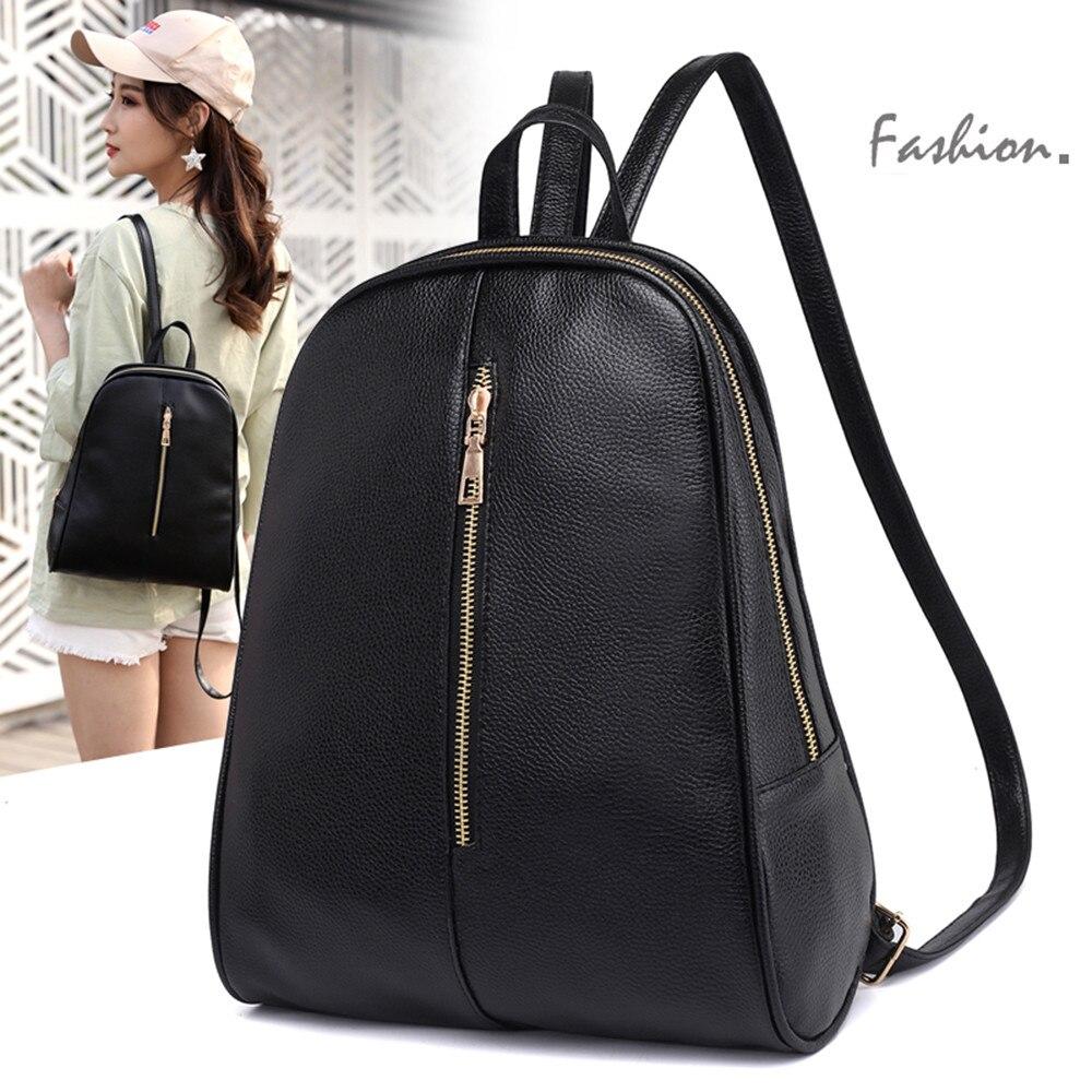 Fashion Women Backpack High Quality Youth Leather Backpacks For Teenage Girls Female School Shoulder Bag Bagpack MochilaHW
