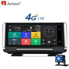 "Junsun E29 Pro 4G Samochód DVR Kamera GPS 6.86 ""Android 5.1 FHD 1080 P WIFI Video Recorder Dash cam Registrar Monitoringu Parking"