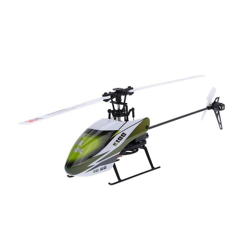 Télécommande RC quadrirotor K100 6CH 3D 6G système RTF RC hélicoptère cadeau d'anniversaire de noël pour les garçons