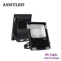 High Quality Original Mi Light 10W RGB CCT LED Floodlight Reflector Intelligent LED Spotlight Outdoor Lighting