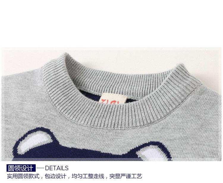 dd6da27e1bf6 Hot Sale Baby Girls Boys jumper Autumn Winter Cartoon Bear Sweaters ...
