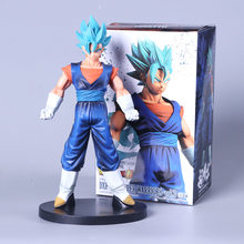Anime Dragon Ball Z Son Goku Vegeta DBZ Gogeta Action Figure Super Saiyan Awakening Figuração de Chocolate Fusão Brinquedo Modelo 23 cm(China)