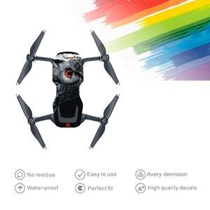 Image 5 - Huid Multi color Waterdicht Stickers Decals Pvc Cover Protector Voor Dji Mavic Air Drone Body Onderdelen Accessoire