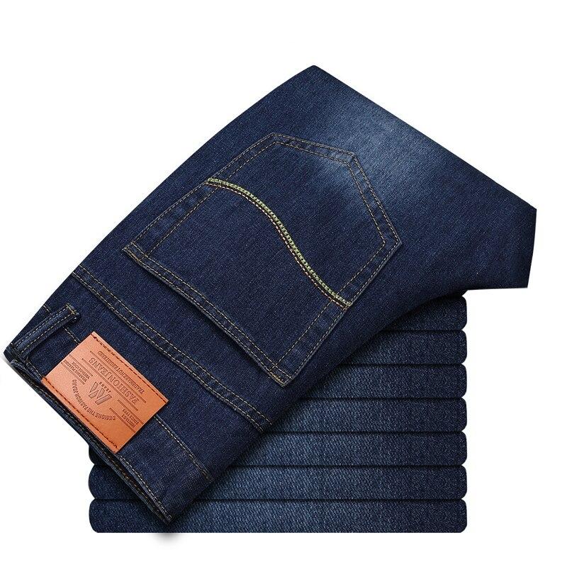 Autumn Winter Biker Jeans Men Casual Denim Straight Design Printed Cheap Clothes China Brand Clothing Fog