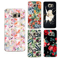Flowers For Iphone 5 5S SE 6s 6 7 Plus Case transparent For Samsung Galaxy s5 s6 s7 edge J3 J5 A3 A5 2016 Core Grand Prime Cover