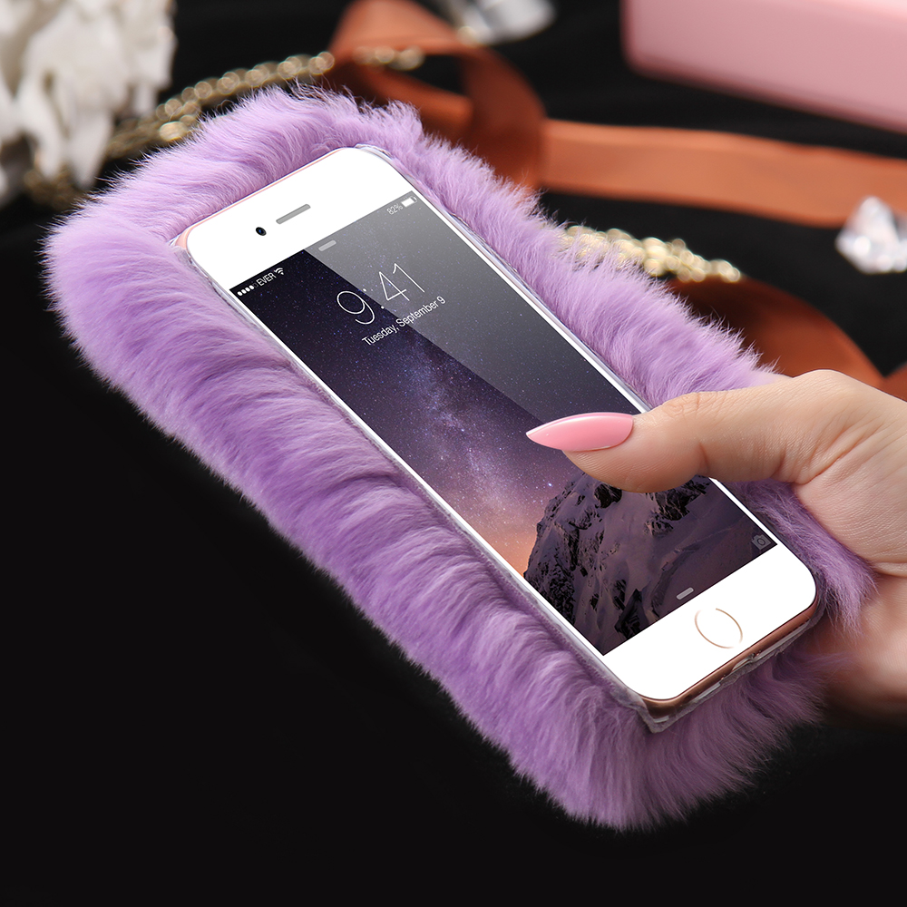 furry case iphone 7