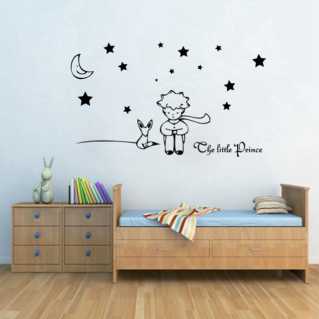 The Little Prince Wall Sticker For Kids Baby Nursery Room Decor Removable Vinyl Decals