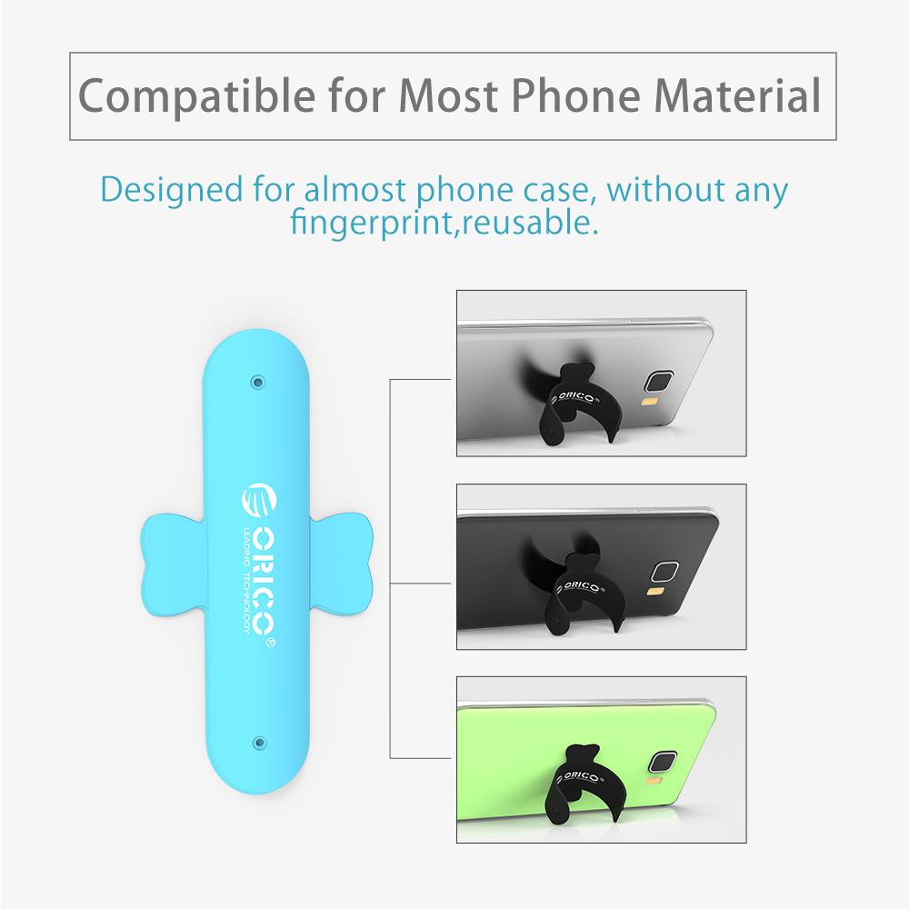 ORICO Mini Touch U One Touch Silicone Stand Finger Rings Universal Portable Phone Holder For iPhone 6 5s 7 Samsung Tablet PC