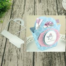 Flower basket Metal Cutting Dies Decorative Scrapbooking Steel Craft Die Cut Embossing Paper Cards Stencils