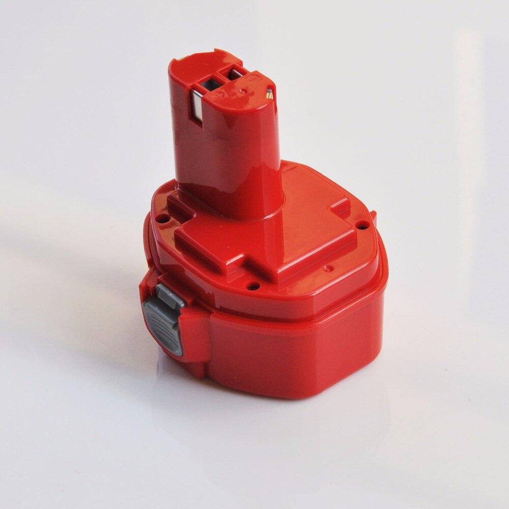 UNITEK 14.4 V Ni-MH batterie rechargeable 3000 mah pour makita perceuse électrique sans fil visseuse 033DZ 5142d 5143d 1051D 4033D