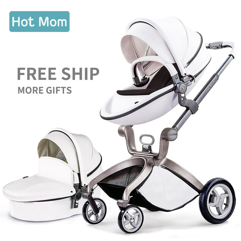 Orignal hot mum  baby stroller folding light trolleys buggiest shock baby stroller 2 in 1 baby car 3 in 1 baby stroller