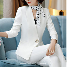 Women's suit spring new fashion Korean business suit slim overalls + small coat