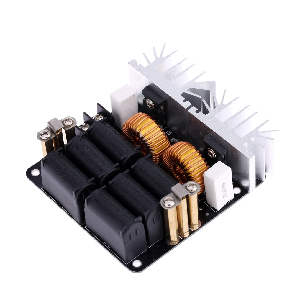Low ZVS 12-48V 20A 1000W  Low Voltage Induction Heating Board High Frequency Induction Heating Machine ModuleLow ZVS 12-48V 20A 1000W  Low Voltage Induction Heating Board High Frequency Induction Heating Machine Module