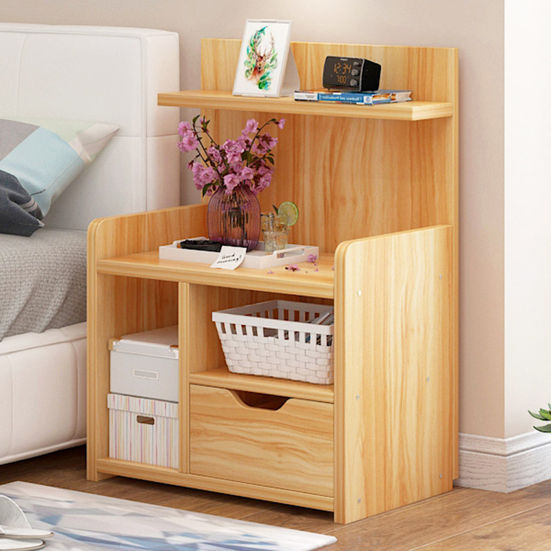 Minimalist modern nightstand bedroom bedside cabinet - Small storage cabinet for bedroom ...