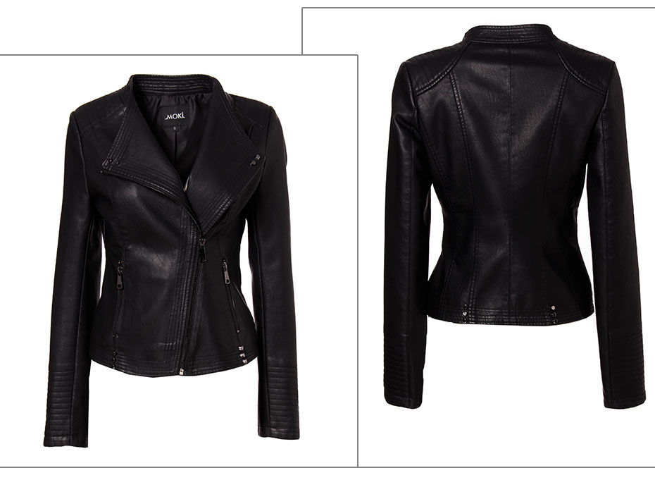 Leather Jacket Woman (2)