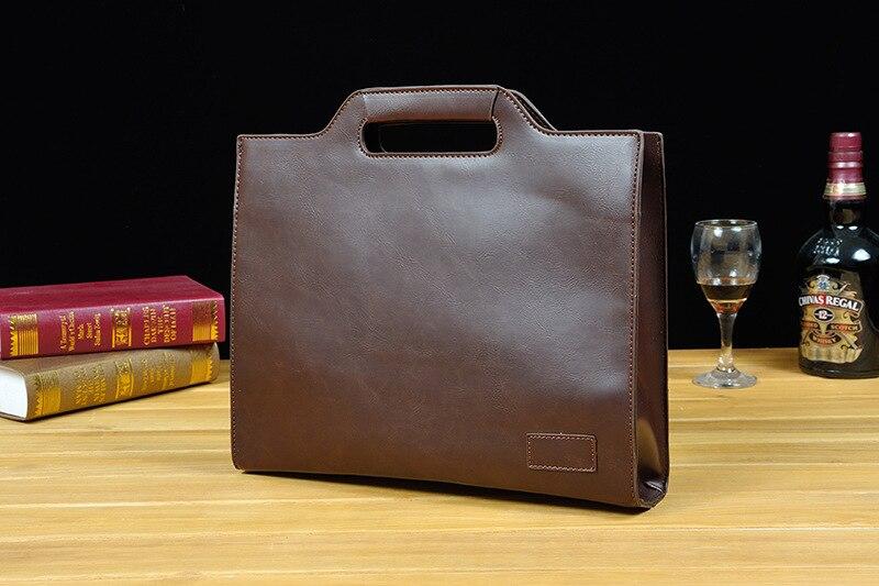 HTB1iz1.XLfsK1RjSszgq6yXzpXaH 2019 Vintage Men's Briefcase Business Office Bags Crazy horse Leather Handbag NEW computer laptop Bag Casual Crossbody bags