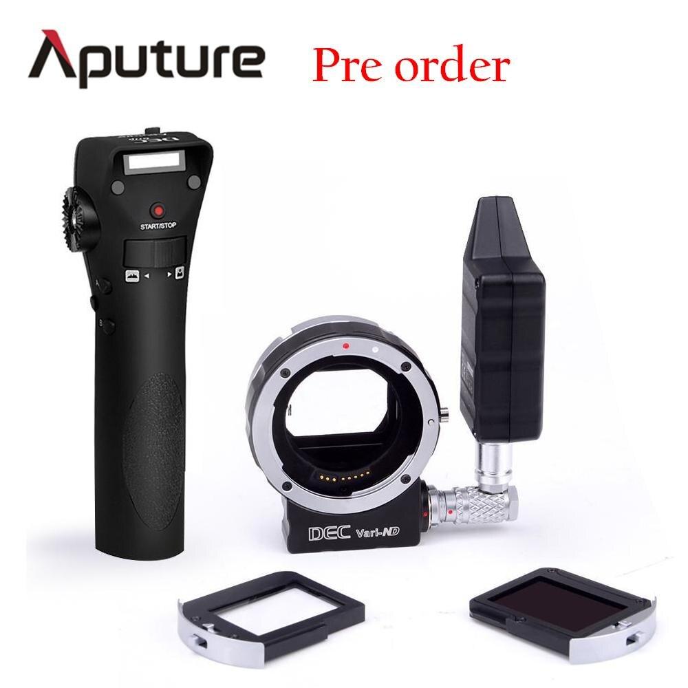 Presale Aputure New DEC Vari-ND for E-mount Wireless Remote Adapter For Canon E-mount cameras multi-steps light adjusting